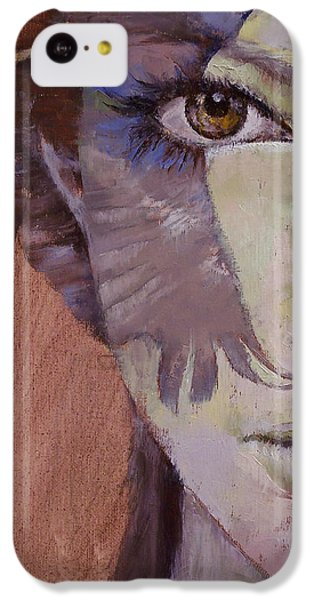 Huntress IPhone 5c Case by Michael Creese