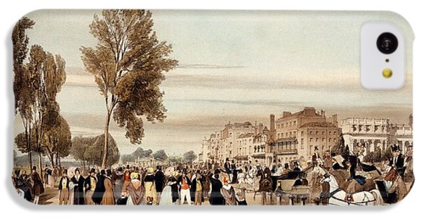 Hyde Park, Towards The Grosvenor Gate IPhone 5c Case by Thomas Shotter Boys