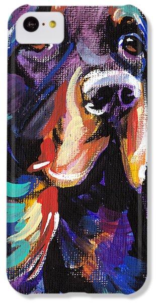 Gorgon iPhone 5c Case - I Love Gordon by Lea S