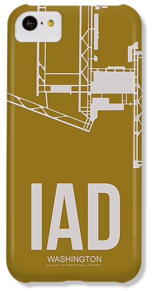 Iad Washington Airport Poster 3 IPhone 5c Case by Naxart Studio