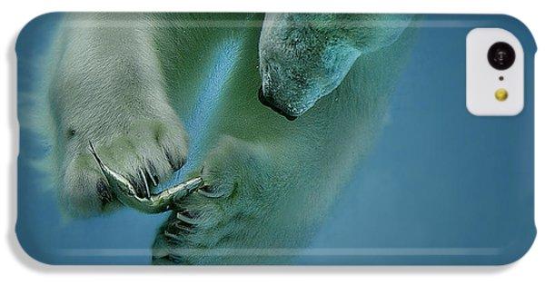Polar Bear iPhone 5c Case - Icebaer by Peter Wagner
