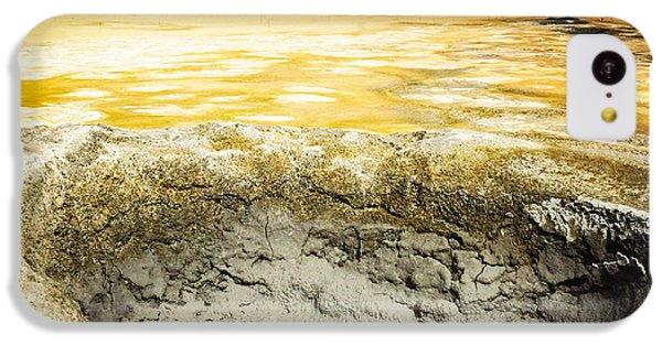 Orange iPhone 5c Case - Iceland Geothermal Area Hverir Namaskard by Matthias Hauser