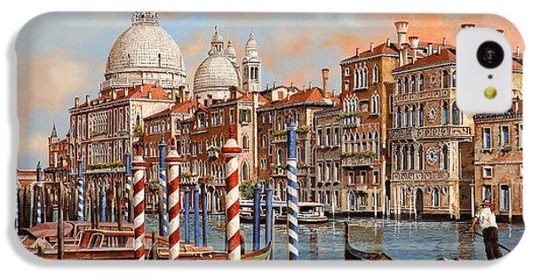 Boat iPhone 5c Case - Il Canal Grande by Guido Borelli