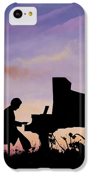 Musical iPhone 5c Case - Il Pianista by Guido Borelli