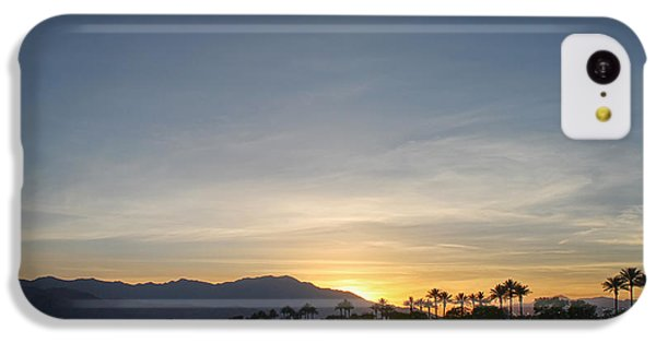 City Sunset iPhone 5c Case - In The Grand Scheme Of Things by Laurie Search