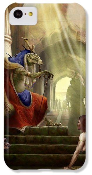 Dungeon iPhone 5c Case - Inquisition by Matt Kedzierski