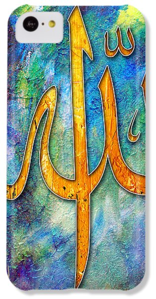 Islamic Caligraphy 001 IPhone 5c Case by Catf