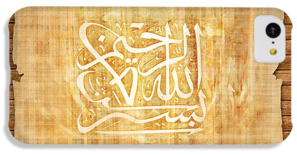 islamic Calligraphy 032 IPhone 5c Case by Catf