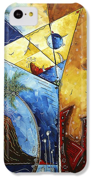 Island Martini  Original Madart Painting IPhone 5c Case by Megan Duncanson