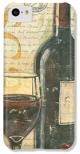 Italian Wine And Grapes IPhone 5c Case