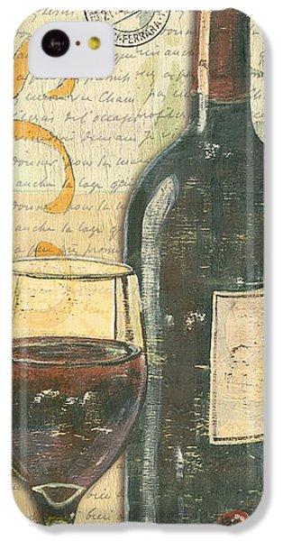 Orange iPhone 5c Case - Italian Wine And Grapes by Debbie DeWitt