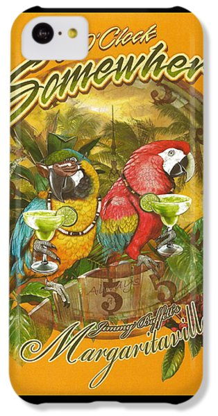 It's 5 O'clock Somewhere IPhone 5c Case by Desiderata Gallery