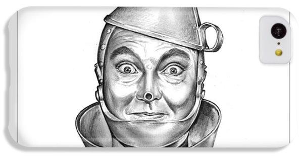 Wizard iPhone 5c Case - Jack Haley As The Tin Man by Greg Joens