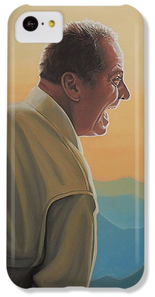 Jack Nicholson iPhone 5c Case - Jack Nicholson And Morgan Freeman by Paul Meijering