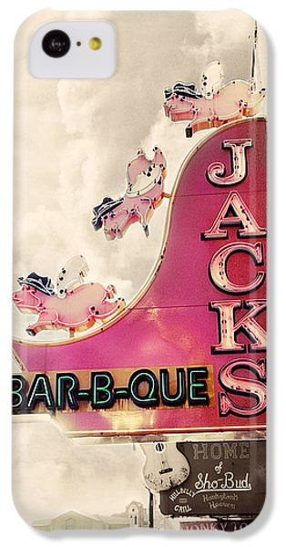Jacks Bbq IPhone 5c Case by Amy Tyler