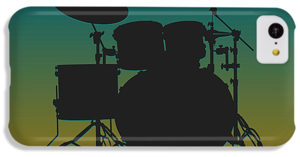 Jacksonville Jaguars Drum Set IPhone 5c Case by Joe Hamilton
