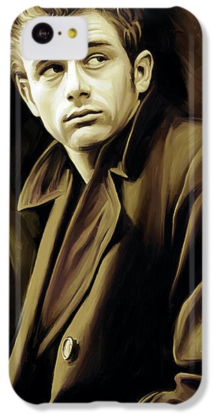 James Dean Artwork IPhone 5c Case by Sheraz A
