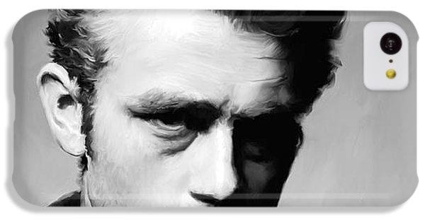 James Dean - Portrait IPhone 5c Case by Paul Tagliamonte