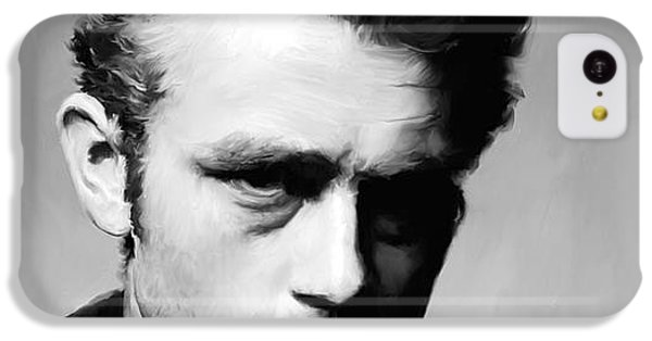 James Dean - Portrait IPhone 5c Case by Paul Tagliamonte
