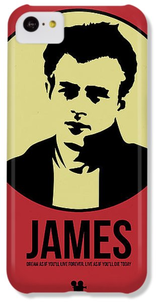James Poster 2 IPhone 5c Case by Naxart Studio