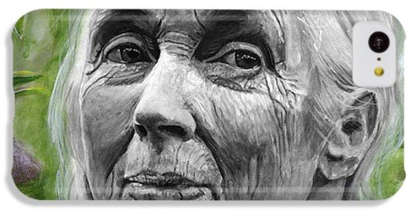 Jane Goodall IPhone 5c Case