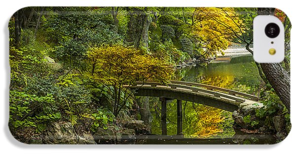 IPhone 5c Case featuring the photograph Japanese Garden by Sebastian Musial
