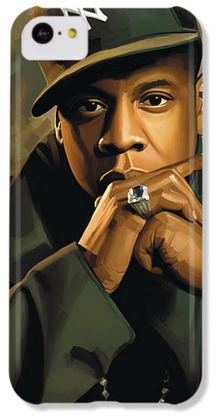 Jay-z Artwork 2 IPhone 5c Case by Sheraz A