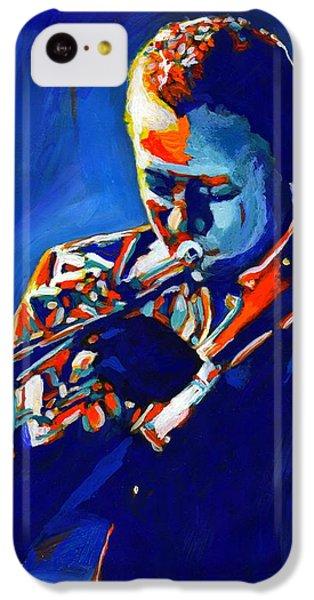 Trumpet iPhone 5c Case - Jazz Man Miles Davis by Vel Verrept