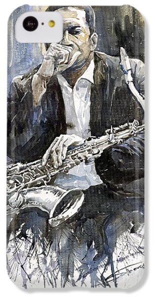 Jazz Saxophonist John Coltrane Yellow IPhone 5c Case