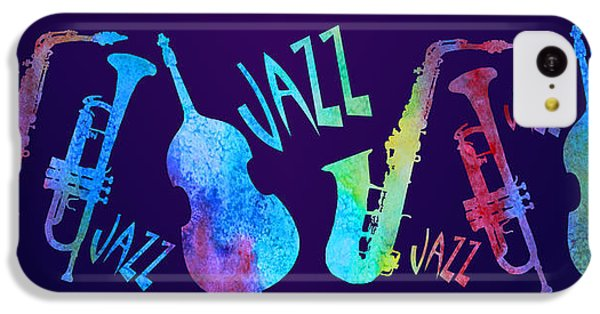 Jazzy Combo IPhone 5c Case by Jenny Armitage