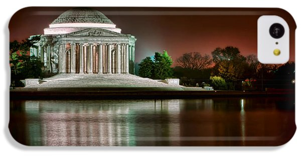 Jefferson Memorial At Night IPhone 5c Case by Olivier Le Queinec