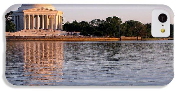 Jefferson Memorial IPhone 5c Case by Olivier Le Queinec