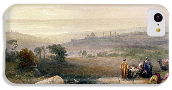 Jerusalem, April 1839 IPhone 5c Case by David Roberts