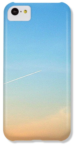 IPhone 5c Case featuring the photograph Jet To Sky by Marc Philippe Joly