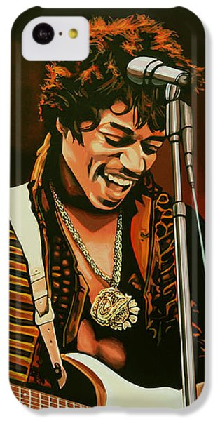 Jimi Hendrix Painting IPhone 5c Case