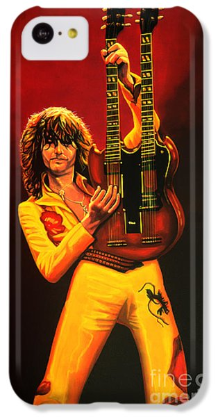 Jimmy Page Painting IPhone 5c Case