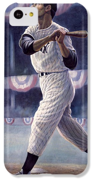 Joe Dimaggio IPhone 5c Case by Gregory Perillo