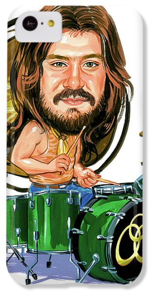 Drum iPhone 5c Case - John Bonham by Art