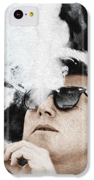 John F Kennedy Cigar And Sunglasses IPhone 5c Case