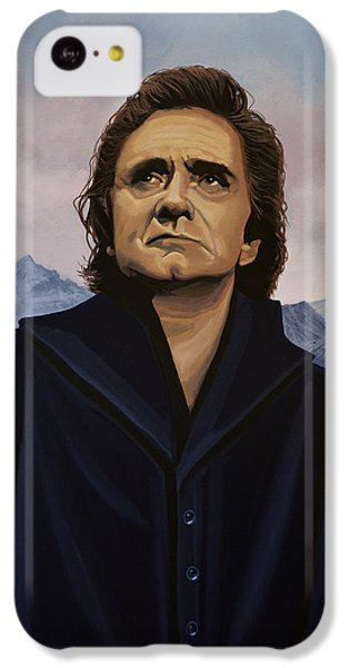 Johnny Cash Painting IPhone 5c Case