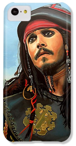 Johnny Depp As Jack Sparrow IPhone 5c Case
