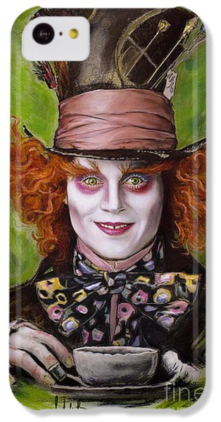 Johnny Depp As Mad Hatter IPhone 5c Case