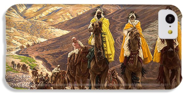 Journey Of The Magi IPhone 5c Case by Tissot