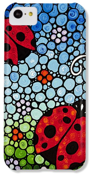 Joyous Ladies Ladybugs IPhone 5c Case