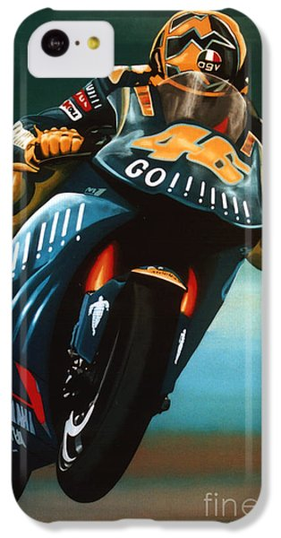 Doctor iPhone 5c Case - Jumping Valentino Rossi  by Paul Meijering