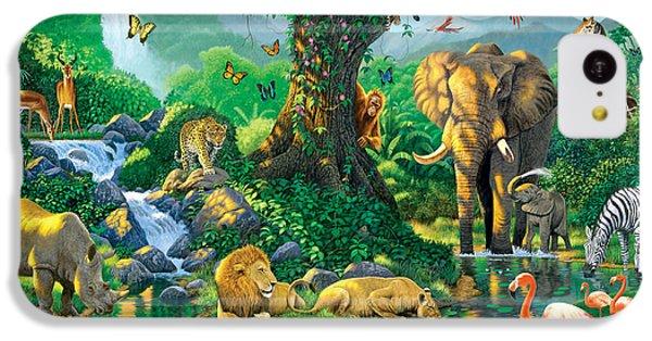 Jungle Harmony IPhone 5c Case by Chris Heitt