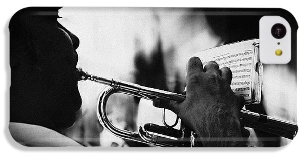Trumpet iPhone 5c Case - Just Follow My Lead by Rui Correia