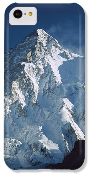 Mountain iPhone 5c Case - K2 At Dawn Pakistan by Colin Monteath