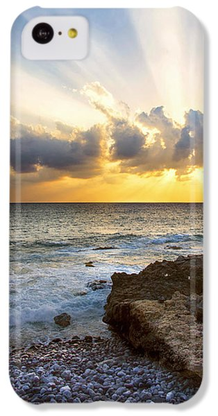 Kaena Point State Park Sunset 2 - Oahu Hawaii IPhone 5c Case