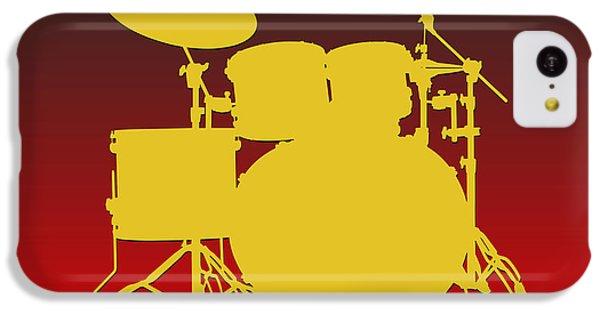 Kansas City Chiefs Drum Set IPhone 5c Case by Joe Hamilton